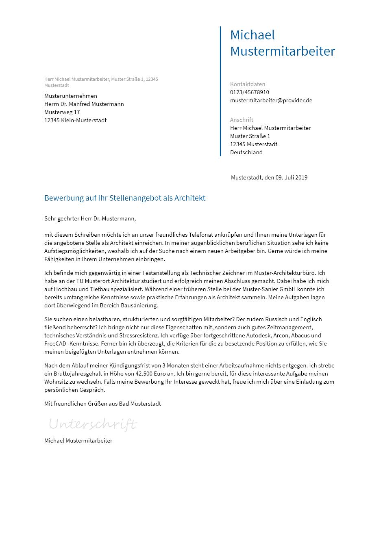 Bewerbungsvorlagen Als Vertriebsmitarbeiter Bewerbung2go