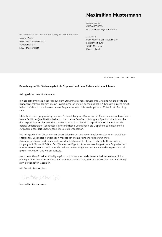 Bewerbungsvorlagen Als Controller Bewerbung2go