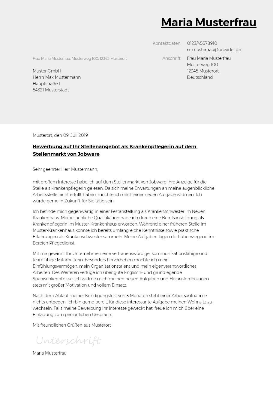 Bewerbungsvorlagen Als Recruiter Bewerbung2go