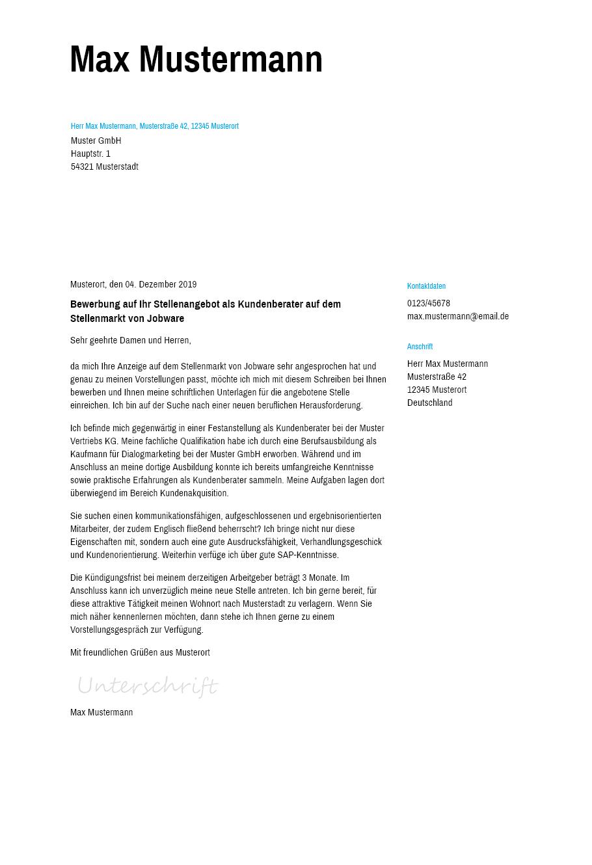 Musterformulierungen: Letzter Satz in der Bewerbung - ibt-pep.de