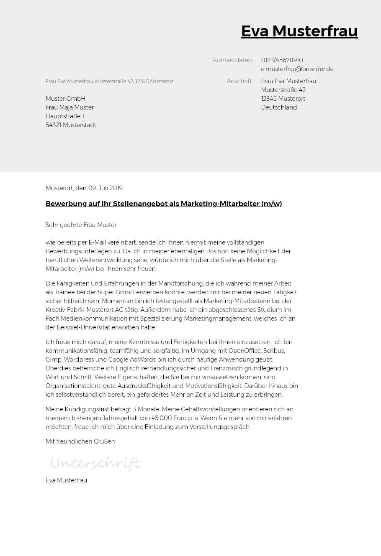 Bewerbungsvorlagen Als Pflegefachkraft Bewerbung2go