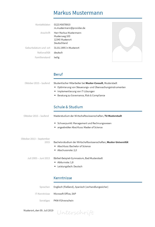 Bewerbungsvorlagen Als Consultant Bewerbung2go