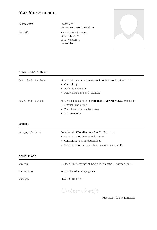 Bewerbungsvorlagen Als Wissenschaftlicher Mitarbeiter Klassisch Bewerbung2go
